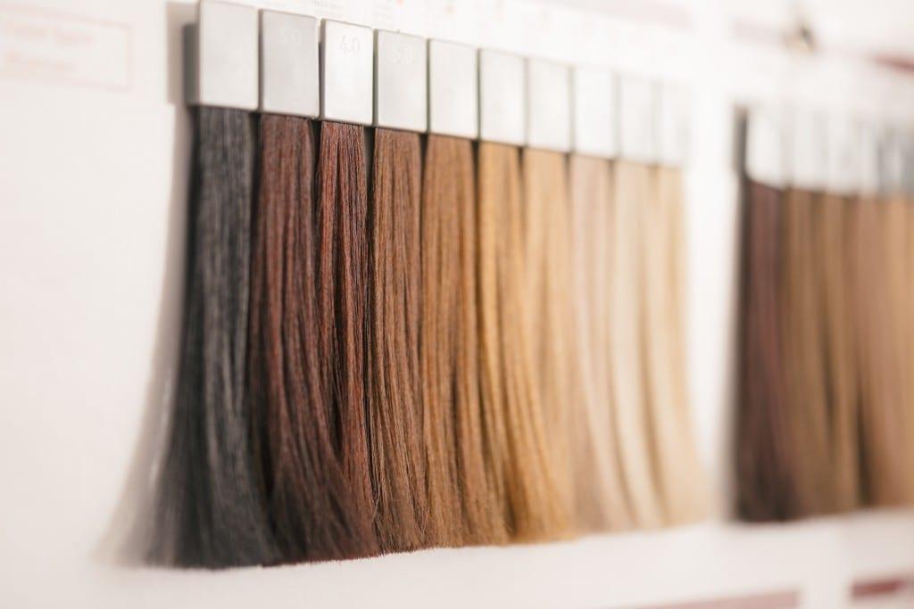 Salon Savvas Haarsträhnen