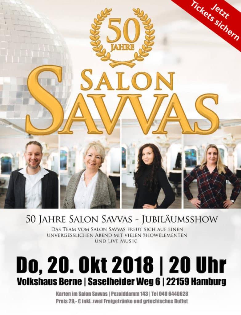 50 Jahre Salon Savvas